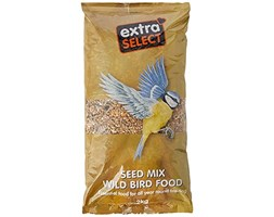 Extra Select Seed Mix Wild Bird Food, 2kg Beige