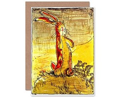 Wee Blue Coo Card Greeting Williams Velveteen Rabbit Nicholson Cover