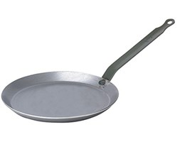 De Buyer 5120.16 – Padella per crepes Diametro: 26 cm grigio