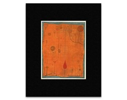 Paul Klee–Fruits on Red 1930Mini Poster–40.5x 30.5cm