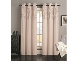 Avondale Manor Ella panel pair Grey, Taupe, 84""