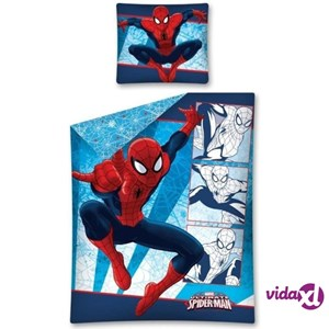 Copripiumino Spiderman Una Piazza E Mezza.Marvel Set Copripiumino E Copricuscino Spiderman 200x140 Cm