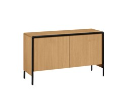 Kave Home - Credenza Nadyria 140x82 cm in rovere Beige