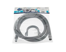 CARE + PROTECT Drain Hose extension-Ø19x24mm, S/S, 19-Joint-2,5m-w/Hook Tubo di Scarico