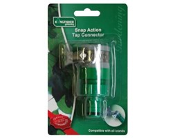 Kingfisher 602SNCP Snap Action Tap Connector–Verde Verde