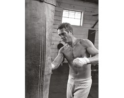 Time Life Poster Boxing di Steve McQueen, 60 x 80 cm