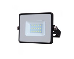 Faro LED V-TAC SMD Chip Samsung 10W Colore Nero 4000K IP65
