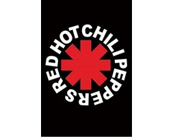 1Art1 Red Hot Chili Peppers - Logo Poster Stampa (91X61)