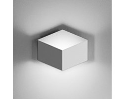 Applique Fold Surface - LED / 1 elemento di Vibia - Bianco - Metallo