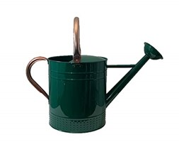 Spear & Jackson Kew Gardens Collection 9L French Style Watering Can Annaffiatoio, Verde Corsa