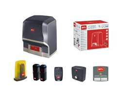 Dieffematic - Kit Cancello Scorrevole 24v Automatismo Bft Ares Ultra Bt A1000 R925294 00001