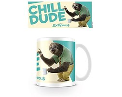 Zoo Tropolis – Chill Dude Flash Zoo Mania – Tazza in ceramica – Camper Volkswagen (incluso accessori aggiuntivi) Bianco