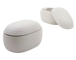 Baule El Baul di Magis Collection Me Too - Bianco - Materiale plastico
