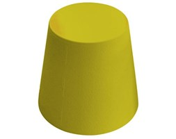 Tavolino gear sgabello di slide giallo materiale plastico