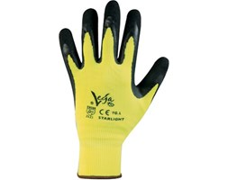 Guanti in nylon Starlight 7 / S Giallo