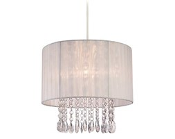 FIRSTLIGHT 8634WH - ORGANZA EASY-FIT PENDANT Beige