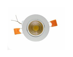 Silamp Faretto LED incasso 5W Cob faro led controsoffitto con alimentatore Led