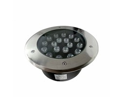 Silamp Faretto LED 18W 230v 18x1w calpestabile da incasso Faretto led carrabile
