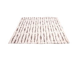 Plaid in 100% poliestere Kymia, beige, 120x 150 cm