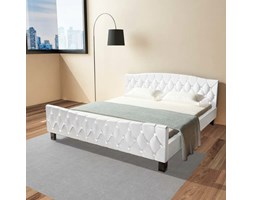 vidaXL Giroletto Bianco in Similpelle 180x200 cm Design Bianco