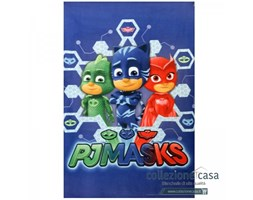 Plaid in pile pjmasks 100x150 cm