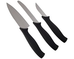 Kitchen Devils Starter Set, Nero set di coltelli