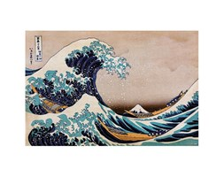 Poster The Great Wave 61x91.5 cm Grigio