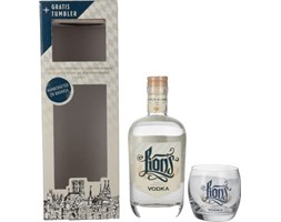 Lion's Munich Handcrafted Vodka 42% - 700ml in Giftbox with Tumbler