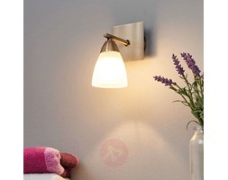 Illuminando applique il soft ap e led paralume pergamena