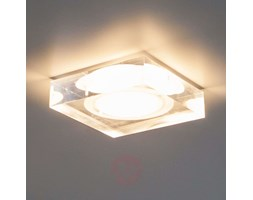 Sara - downlight LED di vetro acrilico