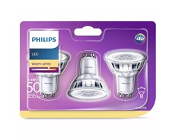 Philips Lampadine LED Faretto 3 pz Classic 4,6W 355 Lumen 929001215286 LED