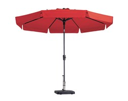 Madison Ombrellone Flores Luxe 300 cm Rosso PAC2P018