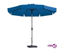 Madison Ombrellone Flores Luxe 300 cm Turchese PAC2P019