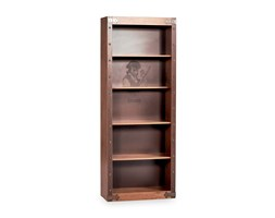 Bedroom bookcase with five shelves