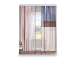 A curtain for a boy's or children's room