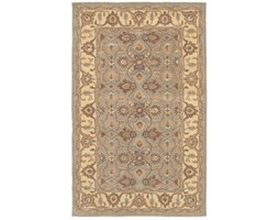 Rizzy Home BL8446 Bentley Hand-Tufted Area rug, 2-Feet by 3-Feet, Tradizionale, Grigio/Beige