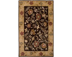 Rizzy Home BL2693 Bentley Hand-Tufted Area rug, 2-Feet by 3-Feet, Tradizionale, Colore: Marrone/Beige Marrone