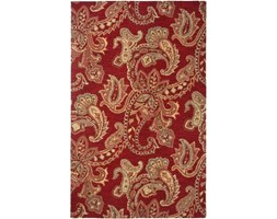 Rizzy Home AL2651 Ashlyn Hand-Tufted Area rug, 2-Feet by 3-Feet, Tradizionale, Rosso