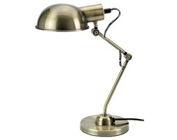 Mathias 3480492 Tea Desk Lamp E14 230V Oro Ottone Diametro 14,2 centimetri Altezza 40,5 cm