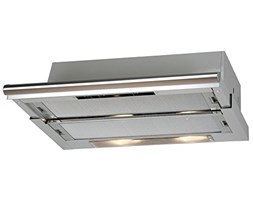 CATA TF-5260 Inox Built-under Grey 340m³/h - Cooker Hoods (340 m³/h, Ducted, 46 dB, Built-under, Grey, 40 W)
