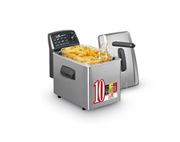 Fritel Turbo SF 4355 Single 4L 3200W Anthracite,Stainless steel - Fryers (4 L, Single, Anthracite, Stainless steel, Stainless steel, 3200 W)